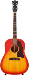Musical Instruments:Acoustic Guitars, 1967 Gibson J-50 Sunburst Acoustic Guitar, Serial # 040317....