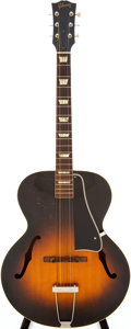 Musical Instruments:Acoustic Guitars, 1957 Gibson L-50 Sunburst Archtop Acoustic Guitar, Serial #7889....