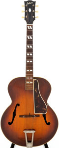 Musical Instruments:Acoustic Guitars, 1947 Gibson L-7 Sunburst Acoustic Guitar, Serial # A-1329....