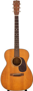 Musical Instruments:Acoustic Guitars, 1955 Martin 00-18 Natural Acoustic Guitar, Serial # 145125....