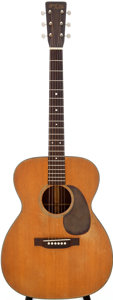 Musical Instruments:Acoustic Guitars, 1952 Martin 000-18 Natural Acoustic Guitar, Serial # 123998....