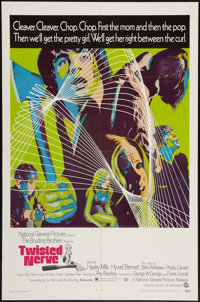 """Twisted Nerve and Other Lot (National General, 1969). One Sheets (2) (27"""" X 41""""). Horror. ... (Total: 2 Items)"""