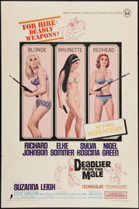 """Deadlier Than the Male (Universal, 1967). One Sheet (27"""" X 41""""). Bad Girl"""
