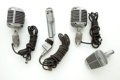 Musical Instruments:Amplifiers, PA, & Effects, Vintage Microphone Lot: Shure Unidyne, Electro-Voice, ShureSonodyne...