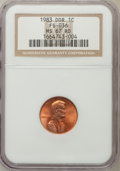 Lincoln Cents: , 1983 1C Doubled Die Reverse MS67 Red NGC. FS-036. NGC Census:(113/9). PCGS Population (33/0). Numismedia Wsl. Price for ...