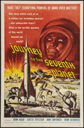 "Movie Posters:Science Fiction, Journey to the Seventh Planet (American International, 1961). OneSheet (27"" X 41""). Science Fiction.. ..."