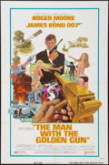 """Movie Posters:James Bond, The Man with the Golden Gun (United Artists, 1974). One Sheet (27"""" X 41""""). Style A. James Bond.. ..."""