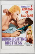 "Movie Posters:Sexploitation, Moonlighting Mistress (Daiei, 1972). One Sheet (27"" X 41"").Sexploitation.. ..."