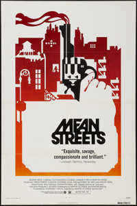 """Mean Streets (Warner Brothers, 1973). One Sheet (27"""" X 41""""). Crime"""