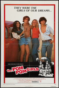 "The Pom Pom Girls and Others Lot (Crown International, 1976). One Sheets (3) (27"" X 41"") Style B. Bad Girl..."