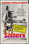 "Movie Posters:Horror, Sisters (American International, 1973). One Sheet (27"" X 41""). Horror.. ..."