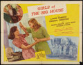 "Movie Posters:Drama, Girls of the Big House (Republic, 1945). Half Sheet (22"" X 28"") Style A. Drama.. ..."