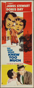 """Movie Posters:Hitchcock, The Man Who Knew Too Much (Paramount, 1956). Insert (14"""" X 36"""").Hitchcock.. ..."""