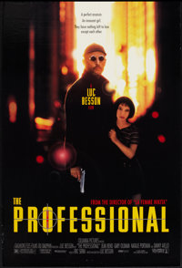 """The Professional (Columbia, 1994). One Sheet (27"""" X 40""""). Thriller"""