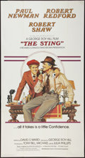 "Movie Posters:Crime, The Sting (Universal, 1974). International Three Sheet (40.5"" X77""). Crime.. ..."