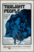 """Movie Posters:Horror, Twilight People (Dimension, 1972). One Sheet (27"""" X 41""""). Horror....."""