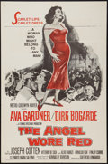 "Movie Posters:War, The Angel Wore Red (MGM, 1960). One Sheet (27"" X 41""). War.. ..."