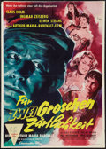 "Movie Posters:Exploitation, Call Girls (Constantin Film, 1957). German A1 (24"" X 33"").Exploitation.. ..."
