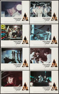 """Movie Posters:Science Fiction, A Clockwork Orange (Warner Brothers, 1971). Lobby Card Set of 8(11"""" X 14"""") R-Rated Version. Science Fiction.. ... (Total: 8 Items)"""