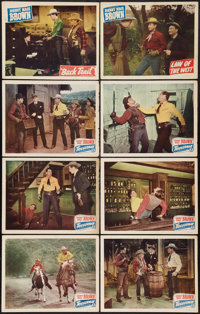 """Triggerman and Others Lot (Monogram, 1948). Lobby Cards (8) (11"""" X 14""""). Western. ... (Total: 8 Items)"""