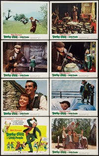 "Darby O'Gill and the Little People (Buena Vista, 1959). Lobby Card Set of 8 (11"" X 14""). Fantasy. ... (Total:..."