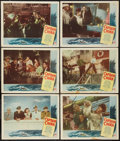 "Movie Posters:Adventure, Captain China (Paramount, 1950). Lobby Cards (6) (11"" X 14"").Adventure.. ... (Total: 6 Items)"