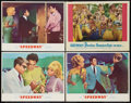 """Movie Posters:Elvis Presley, Speedway and Other Lot (MGM, 1968). Lobby Cards (4) (11"""" X 14"""").Elvis Presley.. ... (Total: 4 Items)"""