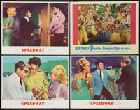 """Speedway and Other Lot (MGM, 1968). Lobby Cards (4) (11"""" X 14""""). Elvis Presley. ... (Total: 4 Items)"""