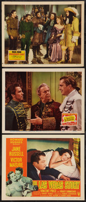 """Vincent Price Lot (Various, 1940s-1950s). Lobby Cards (3) (11"""" X 14""""). Horror. ... (Total: 3 Items)"""