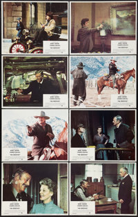 """The Shootist (Paramount, 1976). Lobby Card Set of 8 (11"""" X 14""""). Western. ... (Total: 8 Items)"""