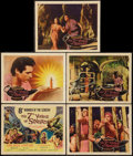 """Movie Posters:Fantasy, The 7th Voyage of Sinbad (Columbia, 1958). Title Lobby Card &Lobby Cards (4) (11"""" X 14""""). Fantasy.. ... (Total: 5 Items)"""