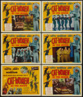 """Movie Posters:Science Fiction, Cat-Women of the Moon (Astor Pictures, 1954). Title Lobby Card& Lobby Cards (5) (11"""" X 14""""). Science Fiction.. ... (Total: 6Items)"""