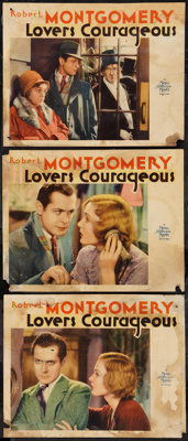"Lovers Courageous (MGM, 1932). Lobby Cards (3) (11"" X 14""). Drama. ... (Total: 3 Items)"