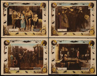"""Miracles of the Jungle (Warner Brothers, 1921). Lobby Cards (4) (11"""" X 14""""). Chapter One -- """"The City of..."""