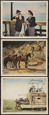 "The Mollycoddle (United Artists, 1920). Lobby Cards (3) (11"" X 14""). Adventure. ... (Total: 3 Items)"
