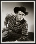 """Movie Posters:Drama, Glenn Ford in The Desperadoes by George Hurrell (Columbia, 1943). Portrait Photo (8"""" X 10""""). Drama.. ..."""