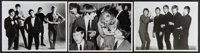 """The Animals & Other Lot (U.P.I., 1964). Photos (3) (8"""" X 10"""") Rock and Roll. ... (Total: 3 Items)"""