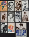 "Movie Posters:Miscellaneous, Movie Star Arcade Cards Lot 1 (Various, 1910s-1980s). Arcade Cards& Postcards (118) (2"" X 3.5, 3"" X 4"" & 3.5"" X 5.5"").Misc... (Total: 118 Item)"