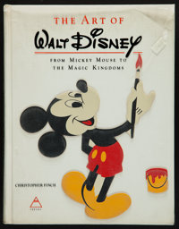 The Art of Walt Disney: From Mickey Mouse to the Magic Kingdom by Christopher Finch (Abrams, 1973). First Edition Hardbo...