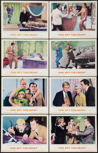 "One Spy Too Many (MGM, 1966). Lobby Card Set of 8 (11"" X 14""). Action. ... (Total: 8 Items)"