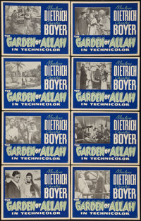 "The Garden of Allah (United Artists, 1936). Other Company Silkscreen Lobby Card Set of 8 (11"" X 14""). Drama..."