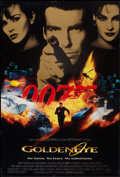 "Movie Posters:James Bond, GoldenEye (United Artists, 1995). One Sheet (27"" X 40""). SS. JamesBond.. ..."