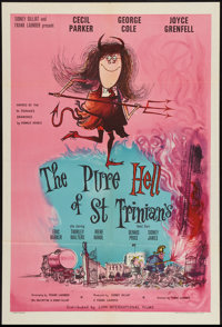 "The Pure Hell of St. Trinian's (British Lion, 1960). British One Sheet (27"" X 40""). Comedy"