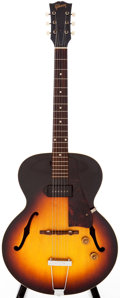 Musical Instruments:Electric Guitars, 1958 Gibson ES-125 Sunburst Archtop Electric Guitar, Serial # T4120 6....