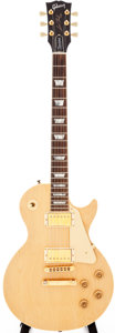 Musical Instruments:Electric Guitars, 1991 Gibson Les Paul Natural Solid Body Electric Guitar, #93121438....