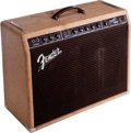 Musical Instruments:Amplifiers, PA, & Effects, 1961 Fender Super Brown Guitar Amplifier, Serial # 02274....
