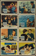 """Movie Posters:Romance, The Key (Columbia, 1958). Lobby Card Set of 8 (11"""" X 14""""). Romance.. ... (Total: 8 Items)"""