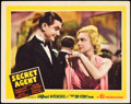 "Movie Posters:Hitchcock, Secret Agent (Gaumont, 1936). Lobby Card (11"" X 14""). Hitchcock....."