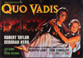 "Movie Posters:Historical Drama, Quo Vadis (MGM, 1951). German A0 (33"" X 46""). Historical Drama....."