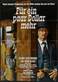 """Movie Posters:Western, For a Few Dollars More (Constantin Film, 1966). German A1 (23.25"""" X 33""""). Western.. ..."""